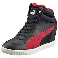 new concept 8fb7e 3948e Ferrari Selection NM Women s Wedge Sneakers Frauen Keil Turnschuhe,  Versteckter Keil Sneaker, Puma Turnschuhe