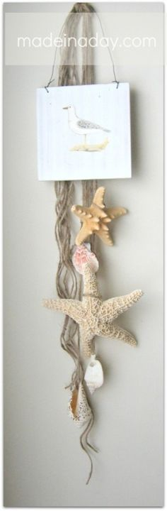 DIy Starfish wall art