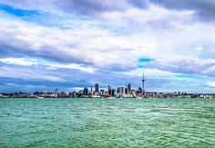 #Auckland #city #landscape #sky #clouds #blue #Water #sea