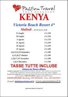 Victoria Beach Resort ****, Malindi