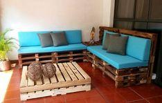 Los palets reciclados son muy útiles para la decoración de diferentes espacios interiores y exteriores del hogar... Para más información ingresa a: http://fotosdedecoraciondesalas.com/hacer-una-sala-palets/