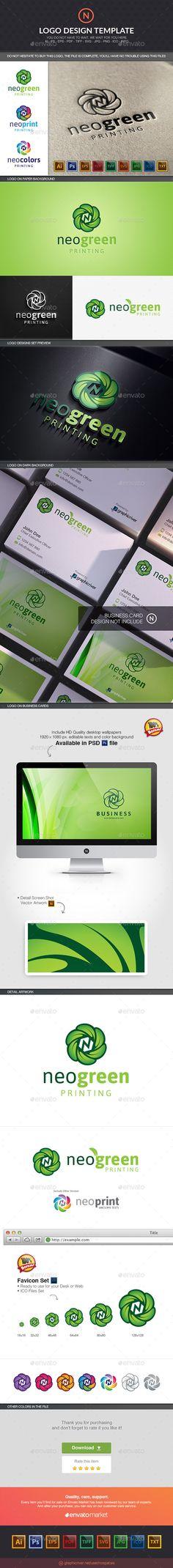 Nanogreen - Logo Design Template Vector #logotype Download it here: http://graphicriver.net/item/nanogreen/10597206?s_rank=1195?ref=nesto