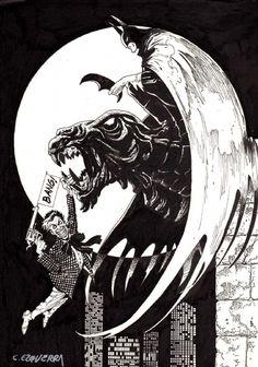 Batman by Carlos Ezquerra