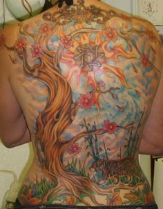 I don't know, I'm just obsessed with back tattoos