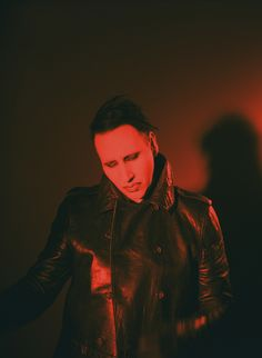 Marilyn Manson Explains His Life-Long Love Affair With Makeup
