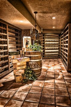 The Wine Cellar by David Pasillas  http://www.facebook.com/DavidPasillasPhoto