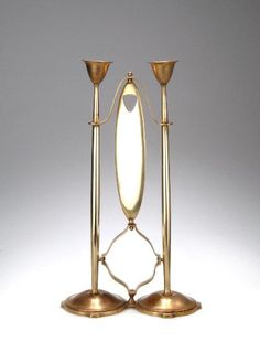 Candlestick by Joseph Maria Olbrich, ca. 1903