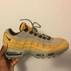 detailed look cbaf7 76623 Nike Shoes   Nike Air Max 95   Color  Brown Green   Size