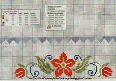 <center>Viviane Alfêna: Viva a primavera! Cross Stitch Bookmarks, Cross Stitch Rose, Cross Stitch Borders, Stitch 2, Cross Stitch Flowers, Counted Cross Stitch Patterns, Cross Stitch Designs, Cross Stitching, Cross Stitch Embroidery