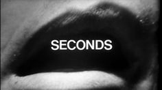 Title sequence designed by Saul Bass, from the film 'Seconds' directed by John Frankenheimer, starring Rock Hudson, Salome Jens and John Randolph Saul Bass, Art Of The Title, Secret Organizations, Camera Movements, Rock Hudson, Close Up Photography, Title Card, Title Sequence, Movie Titles