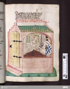 Isis' Wardrobe: Supportive underwear in the 15th century Medieval Bed, Medieval World, Medieval Fashion, Medieval Clothing, Medieval Manuscript, Illuminated Manuscript, Renaissance, Middle Ages Clothing, 15th Century Clothing