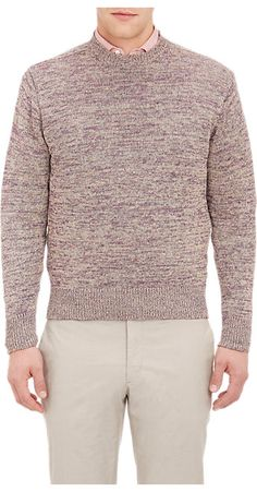 Inis Meain Mélange Flecked Sweater