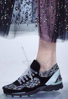Chanel sneakers 2014 Haute Couture