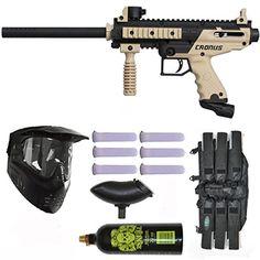 Tippmann Cronus Paintball Marker Gun -Basic Edition- Tan Player Package Tippmann http://www.amazon.com/dp/B00HETUX8O/ref=cm_sw_r_pi_dp_XvlFvb0VK95FQ