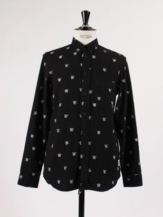 New arrivals - APLACE - Printed Shirt from Wood Wood