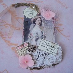 Scrapping with Sherry: Tags