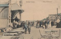 AK Ostseebad Cranz Ostpreussen ca 1900 Selenogradsk Rossia bei Königsberg defekt