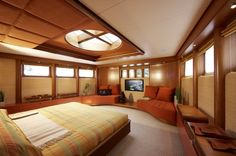 Life Saga Super Yacht Interior