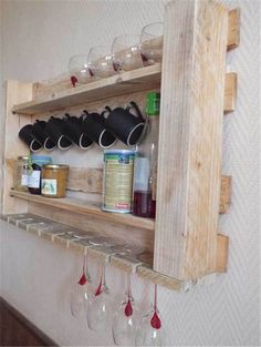 30 Extraordinary Creative and Graphic DIY Mug Storage To Beautify Your Kitchen  usefuldiyprojects.com decor (11)