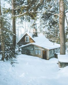 These Cozy Photos Of Log Cabins In The Snow Will Make You Feel Extra Hygge - Photos of Cabins in the Snow