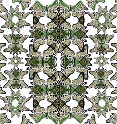 Piet Boon Styling by Karin Meyn | Green butterfly print