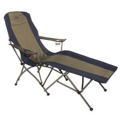 Folding Lounge Chair Outdoor Camping Patio Porch Deck Garden Foldable Storage  #nonbranded