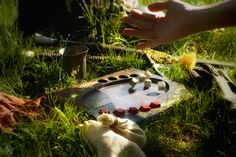 Dice poker board from The Witcher PC game. I made the board. Photo by Gabriela Goffová. Pc Game, The Witcher, Dice, Poker, Boards, Deviantart, Outdoor Decor, Planks, Pc Games