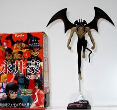 FURUTA japanese scary action anime DEVILMAN figure DEVIL MAN comics version