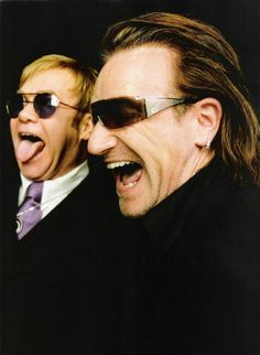 Elton John and Bono...Two Classics!