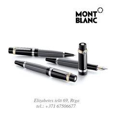 """Ik gadu Montblanc rada vairākas jaunas pildspalvu kolekcijas. Viena no tām – """"Writers"""" - radīta, godājot pasaules Meistarus, kas pasaules literatūrā atstājuši nenovērtējamu dārgumu. Starp Montblanc meistardarbiem aicinām iepazīt HONORE DE BALZAC pildspalvu. / Ежегодно Montblanc выпускает несколько серий ручек. Одна из них, «Writers»(«Писатели») - дань восхищения великим Мастерам, внесшим неоценимый вклад в сокровищницу мировой литературы. Среди шедевров от Montblanc – серия HONORE DE BALZAC"""