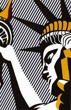 "ROY LICHTENSTEIN (1923-1997) - I LOVE LIBERTY, 1982 - (Corlett, 192) -[...], mis en vente lors de la vente ""Estampes & Multiples"" à Cornette de Saint Cyr Paris 
