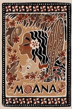 Take a look at this exclusive art tribute to the Disney Films of Ron Clements and John Musker, Coming This November. This Moana print is by