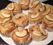 Sugar Free Apple and Banana Muffins - Kirsten