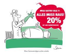 Würden #Gastroenterologen (so) werben (dürfen) … #medizin #humor #cartoon