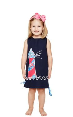 Lilly Pulitzer Little Lilly Classic Shift Dress in Lights On