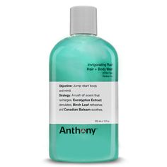 Invigorating Rush Hair + Body Wash by ANTHONY