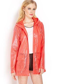 Lace Raincoat