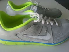 $50 Women's Nike Running Shoes Size 6.5 Oceania NM Gray and Green Athletic shoes #Nike #FashionSneakers