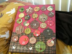 THE MOST AMAZING ADVENT CALENDAR WITH TUTE!! (complete w/ photos) - OCCASIONS AND HOLIDAYS