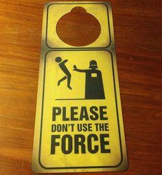 Star War Door Sign and Dry Erase