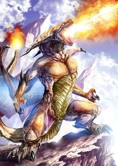 Mighty Charizard by kokodriliscus
