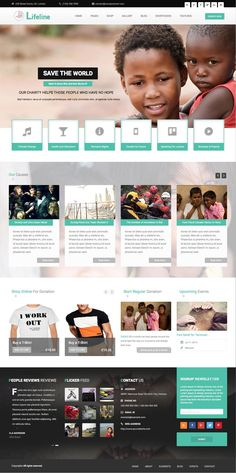 Lifeline WordPress Online Donations System Theme - www.templates4all.com