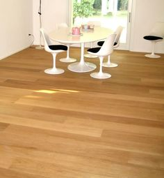 Hardwood Floors, Flooring, Dining Table, House, Furniture, Home Decor, Houses, Parquetry, Wood Floor Tiles