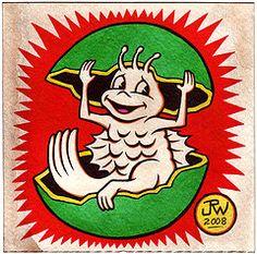 Sea Monkey Sea Monkeys, Monkey Tattoos, Brine Shrimp, Writing Ideas, Popular Culture, I Tattoo, More Fun, Pop Culture, Barrel