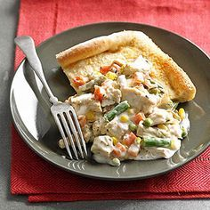 Creamy Chicken and Vegetable Pot Pie