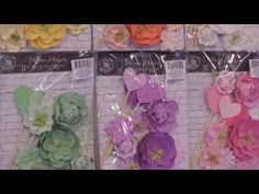New Florals by Prima - CHA 2015 Video