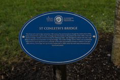 St. Conleth's Bridge In Newbridge - County Kildare (Ireland)