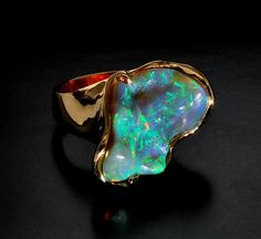 Gordon Aatlo Opal Ring. I love Opals far more than diamonds.