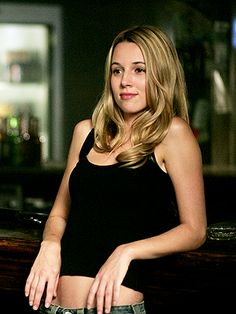 """Joanna Beth """"Jo"""" Harvelle in Supernatural, played by Alona Tal. I was so sad when she died!"""