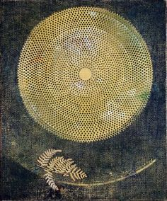 """Max Ernst, Silence Through the Ages, 1968 """